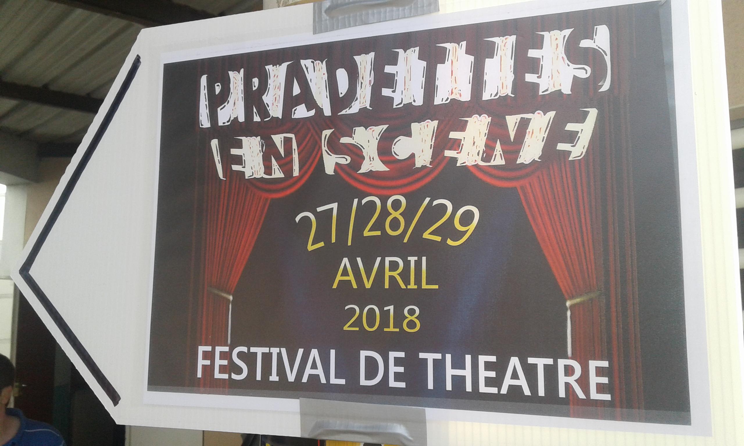 Inauguration Du 1er Festival De Théâtre Du Quartier Des Pradettes- Toulouse